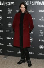 AMY LANDECKER at 'Beatriz at Dinner' Premiere at 2017 Sundance Film Festival 01/23/2017