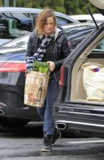 AMY POEHLER Out Shopping in Los Angeles 01/20/2017