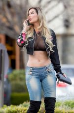 ANA BRAGA Out and About in Los Angeles 01/24/2017