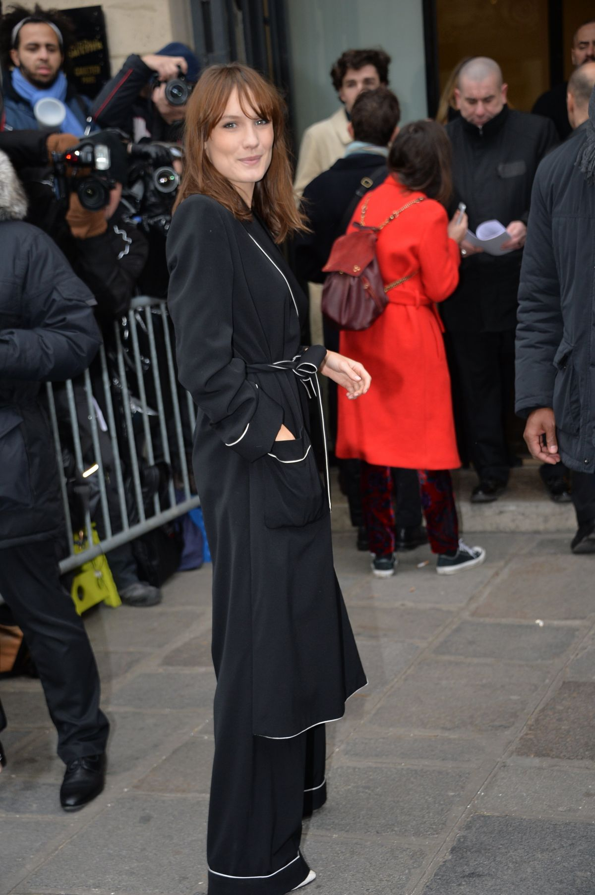 ANA GIRARDOT at Jean-paul Gaultier Fashion Show at Pais Fashion Week 01/25/2017