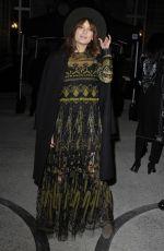 ANA GIRARDOT at Valentino Fashion Show at Paris Fashion Week 01/25/2017