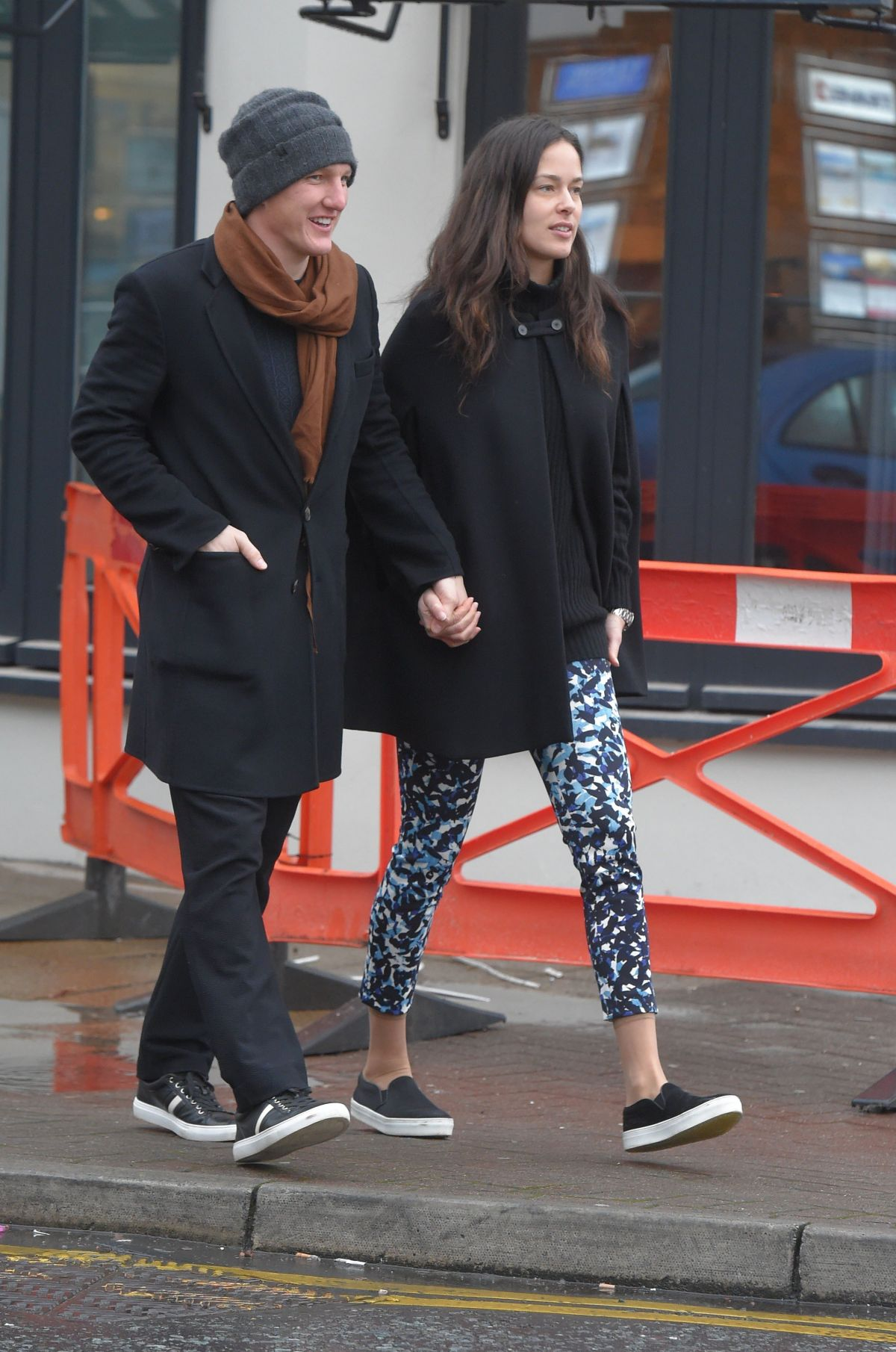 ANA IVANOVIC and Bastian Schweinsteiger Out in Cheshire 01 ...