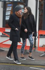 ANA IVANOVIC and Bastian Schweinsteiger Out in Cheshire 01/13/2017
