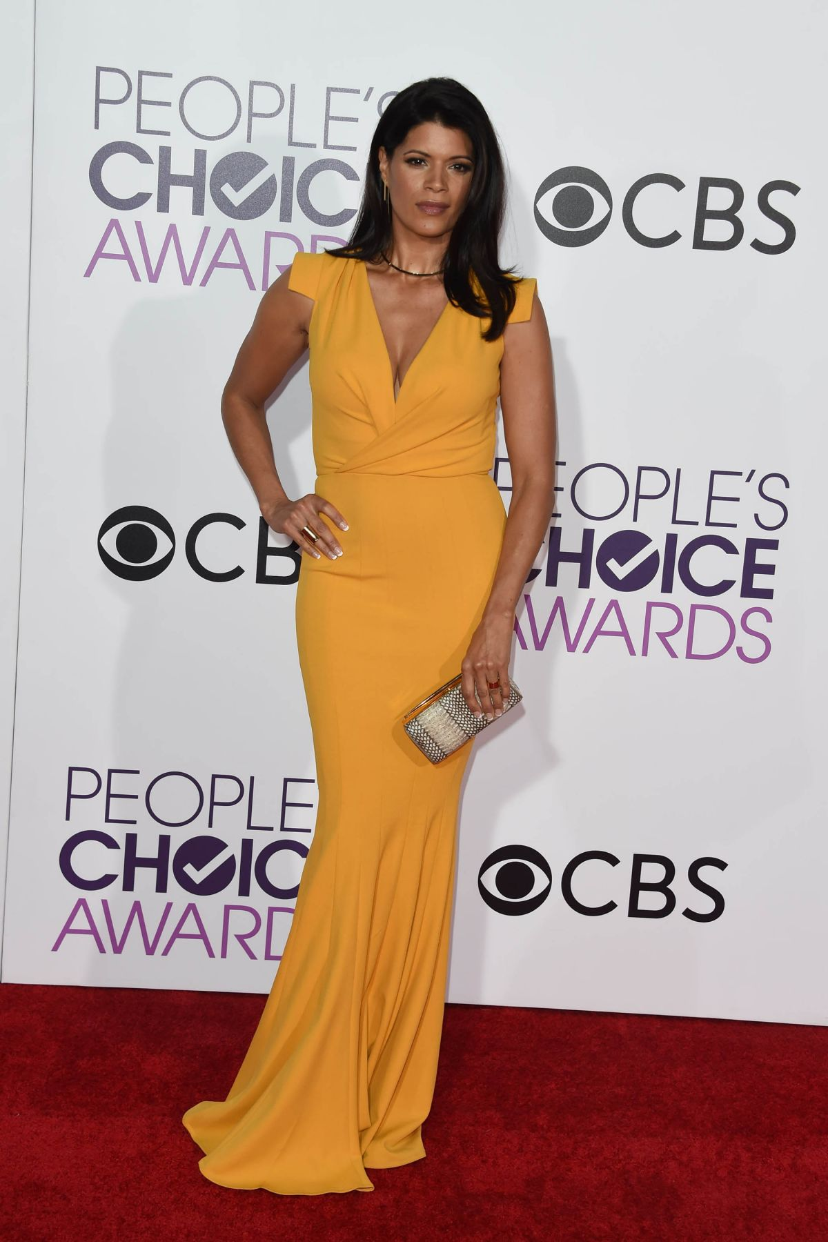 ANDREA NAVEDO at 43rd Annual People's Choice Awards in Los Angeles 01/18/2017