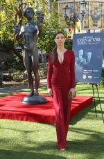 ANGELA SARAFYAN at 23rd Annual SAG Awards: Greet the Actor at the Grove in Los Angeles 01/25/2017
