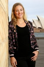 ANGELIQUE KERBE on the Set of a Photoshoot in Sydney 01/08/2017