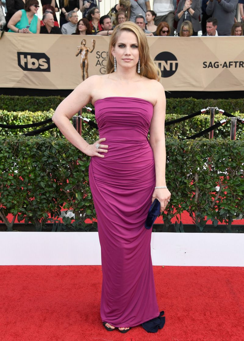 ANNA CHLUMSKY at 23rd Annual Screen Actors Guild Awards in Los Angeles 01/29/2017