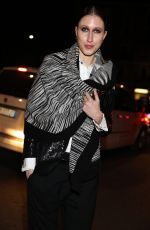 ANNA CLEVELAND at Dsquared2 Fall/Winter 2017 Fashion Show in Milan 01/15/2017