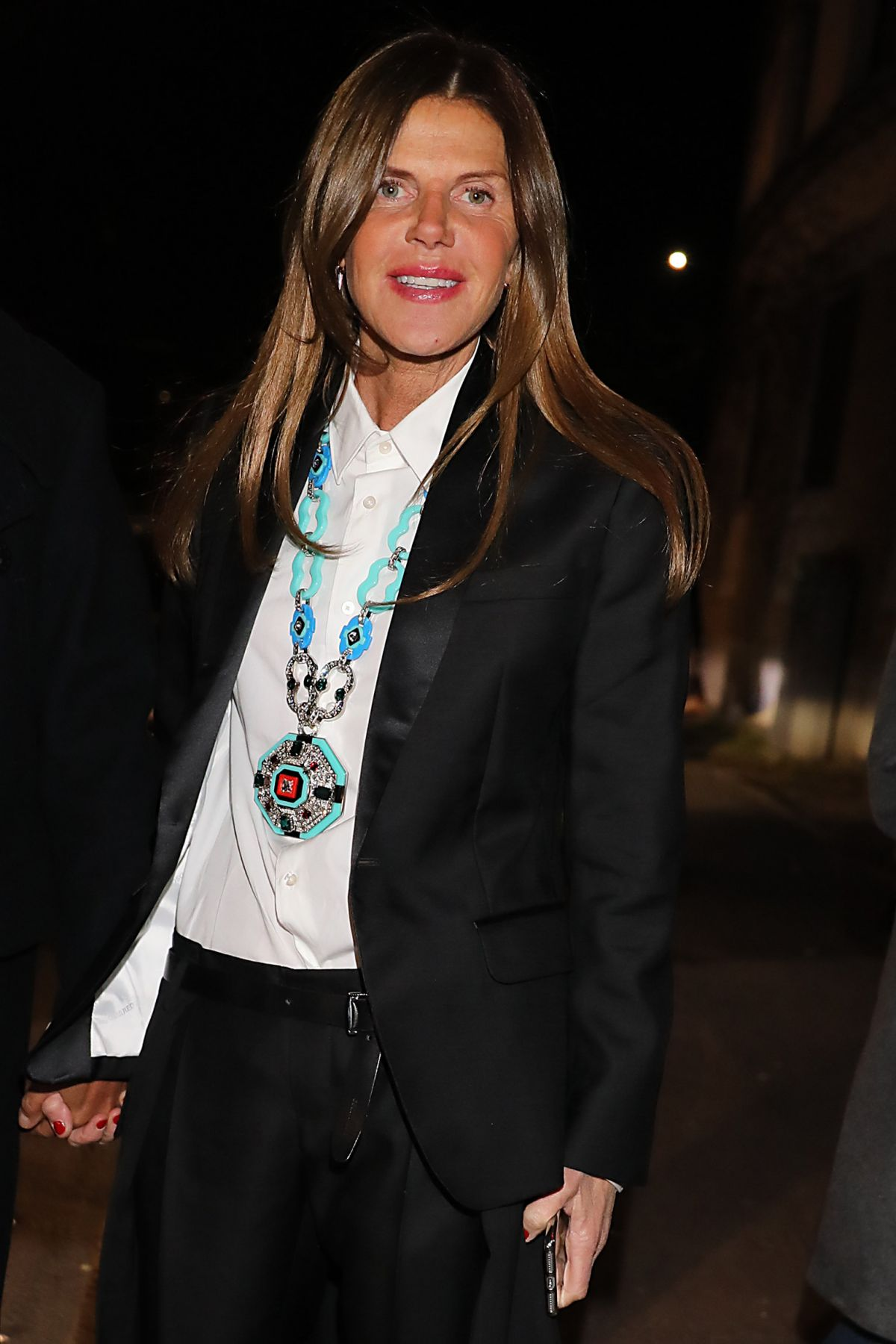 ANNA DELLO RUSSO at Dsquared2 Fall/Winter 2017 Fashion Show in Milan 01/15/2017