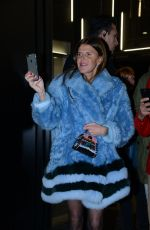 ANNA DELLO RUSSO at Fendi Fashion Show in Milan 01/16/2017