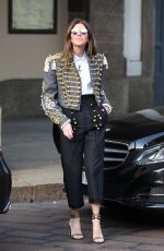 ANNA DELLO RUSSO Out and About in Milan 01/27/2017