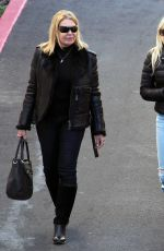 ANNA FARIS Out and About in West Hollywood 01/11/2017