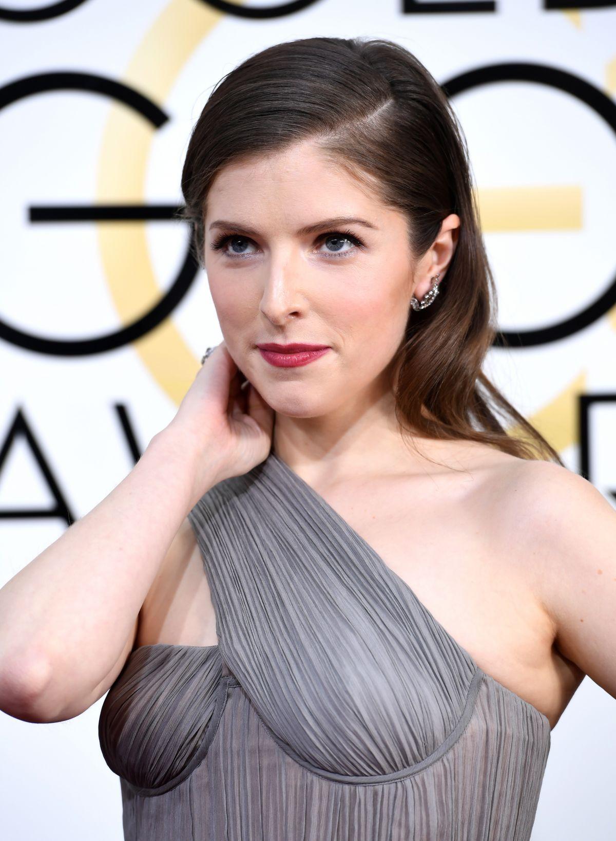 ANNA KENDRICK at 74th Annual Golden Globe Awards in ... Anna Kendrick