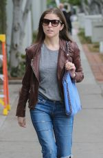 ANNA KENDRICK in Jeans Out in West Hollywood 01/03/2017