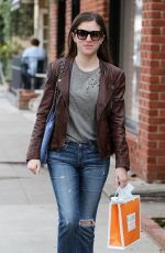 ANNA KENDRICK Out and About in Beverly Hills 01/03/2017