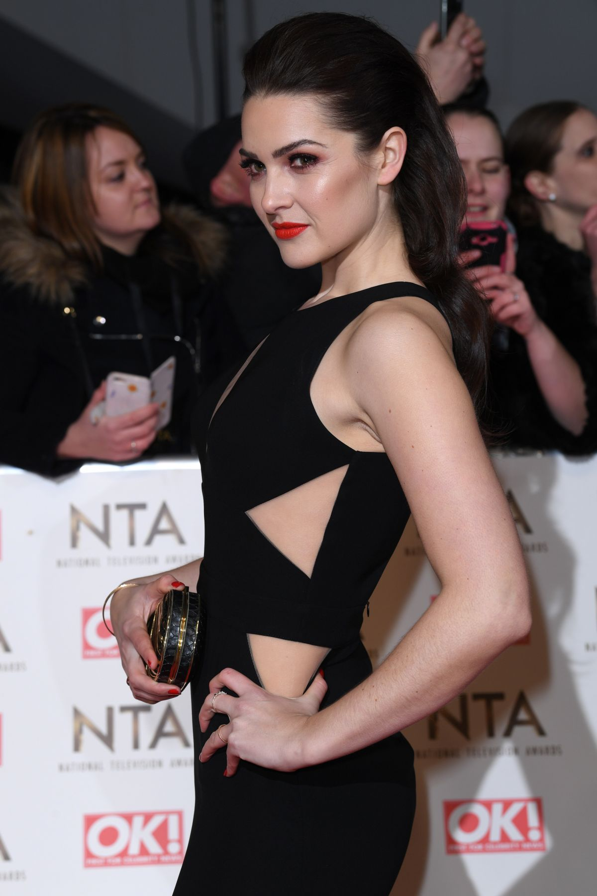 ANNA PASSEY at National Television Awards in London 01/25/2017