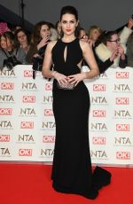 ANNA PASSEY at National Television Awards in London 01/25/2017