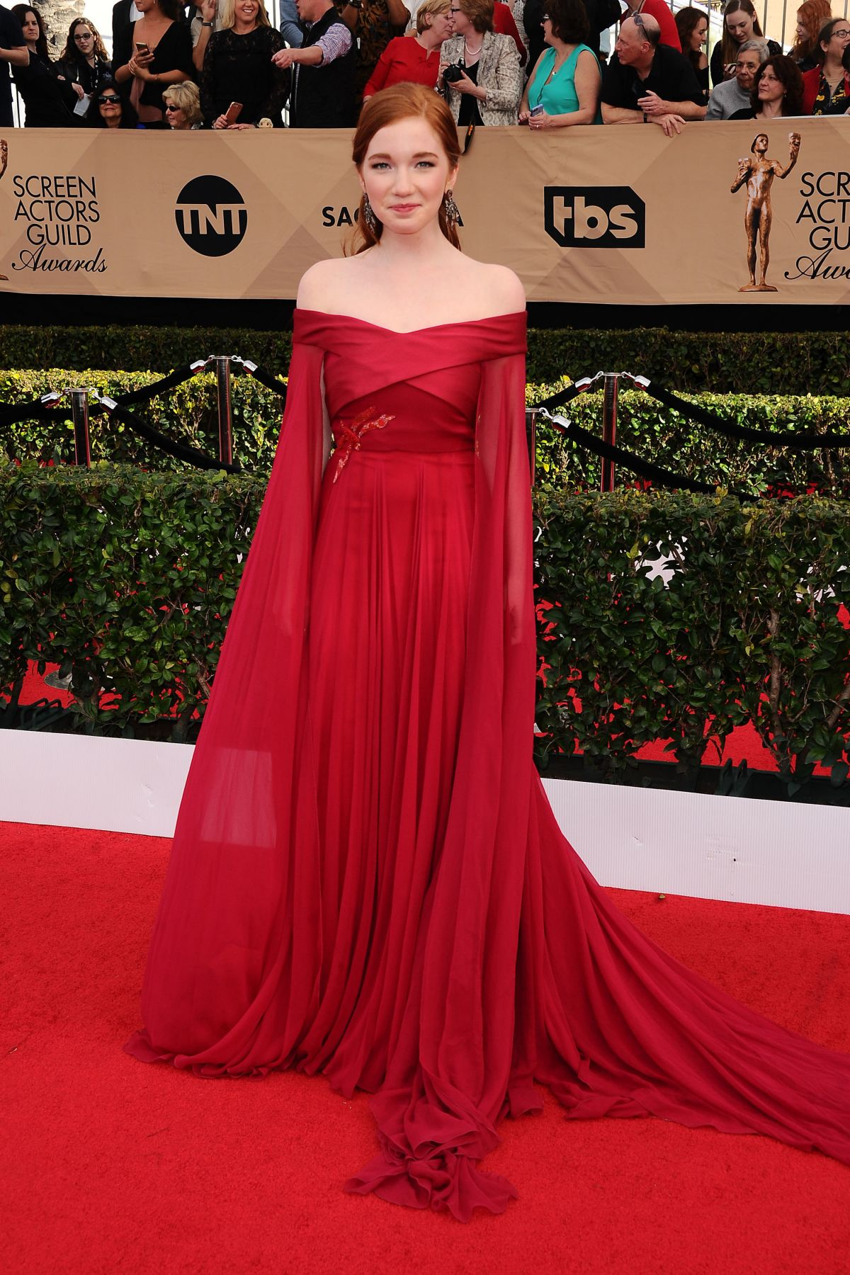 ANNALISE BASSO at 23rd Annual Screen Actors Guild Awards ...