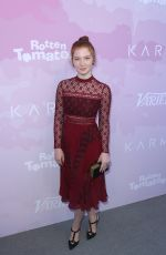 ANNALISE BASSO at Variety's Awards Nominees Brunch in Los Angeles 01/28/2017