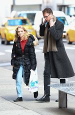 ANNASOPHIA ROBB Out and About in New York 01/25/2017