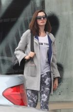 ANNE HATHAWAY Out Shoping in West Hollywood 01/05/2017