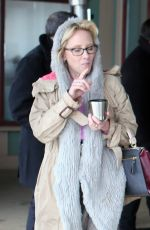 ANNE HECHE Out and About in Park City 01/23/2017