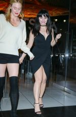 ARIEL TEAL TOOMBS Night Out in Los Angeles 01/16/2017