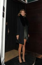 ARIZONA MUSE Arrives at Rodial VIP Dinner in London 01/16/2017