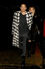 ASHLEE SIMPSON at Peppermint Club in West Hollywod 01/11/2017