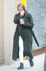ASHLEY BENSON Out and About in New York 01/23/2017