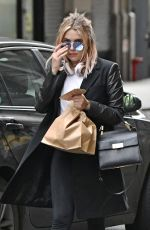 ASHLEY BENSON Out and About in New York 01/27/2017