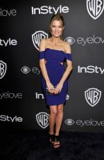 ASHLEY HINSHAW at Warner Bros. Pictures & Instyle's 18th Annual Golden Globes Party in Beverly Hills 01/08/2017