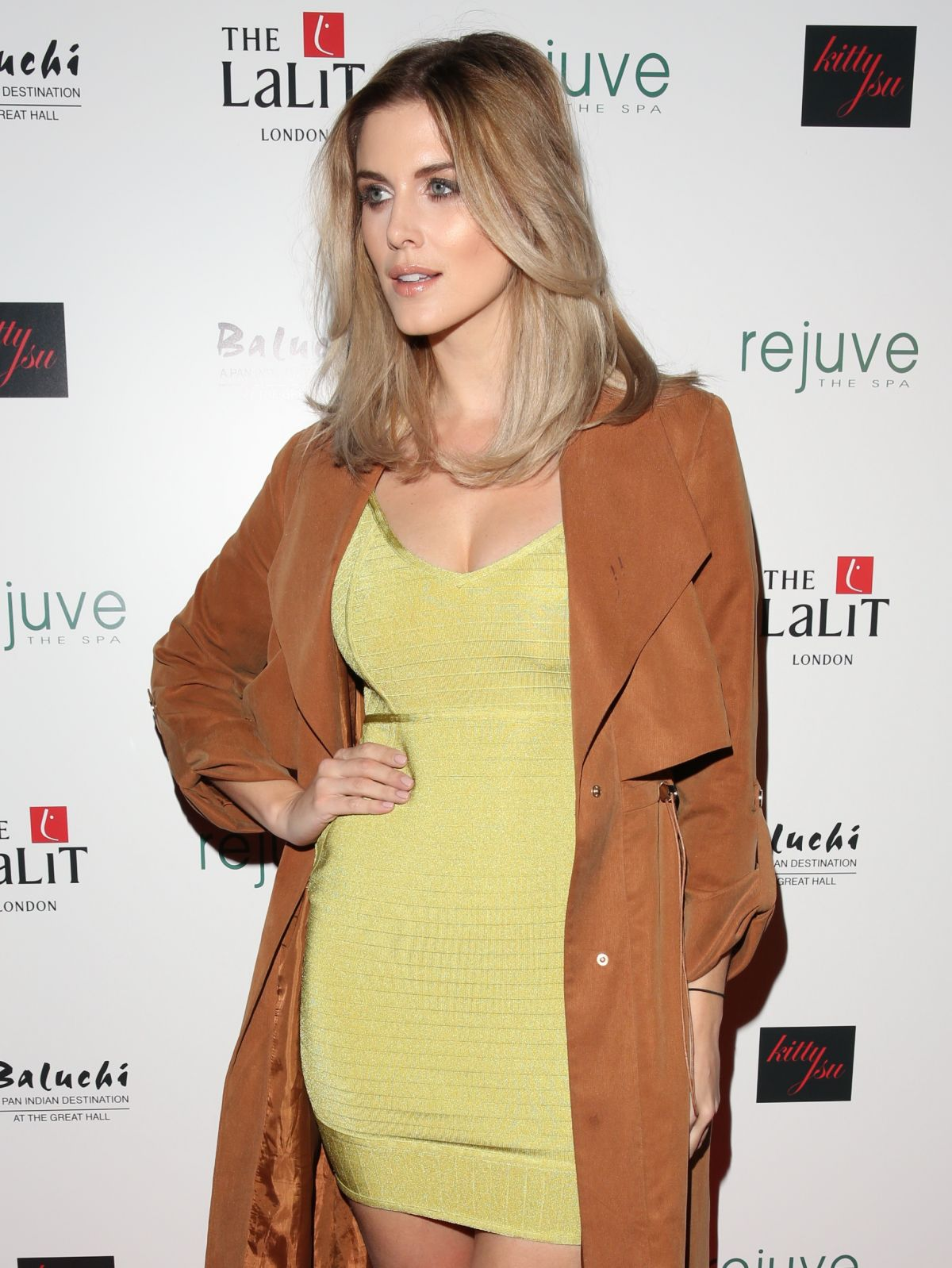 ASHLEY JAMES at Lalit London Hotel Launch Party 01/26/2017