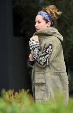 ASHLEY TISDALE Out for Lunch in West Hollywood 01/04/2017