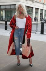 BEBE REXHA Out and About in London 01/30/2017