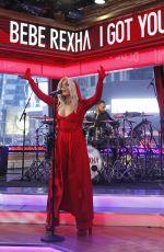 BEBE REXHA Performs at Good Morning America in New York. 01/13/2017