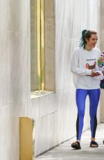 BELLA and DANI THORNE After Workout in Los Angeles 01/07/2017