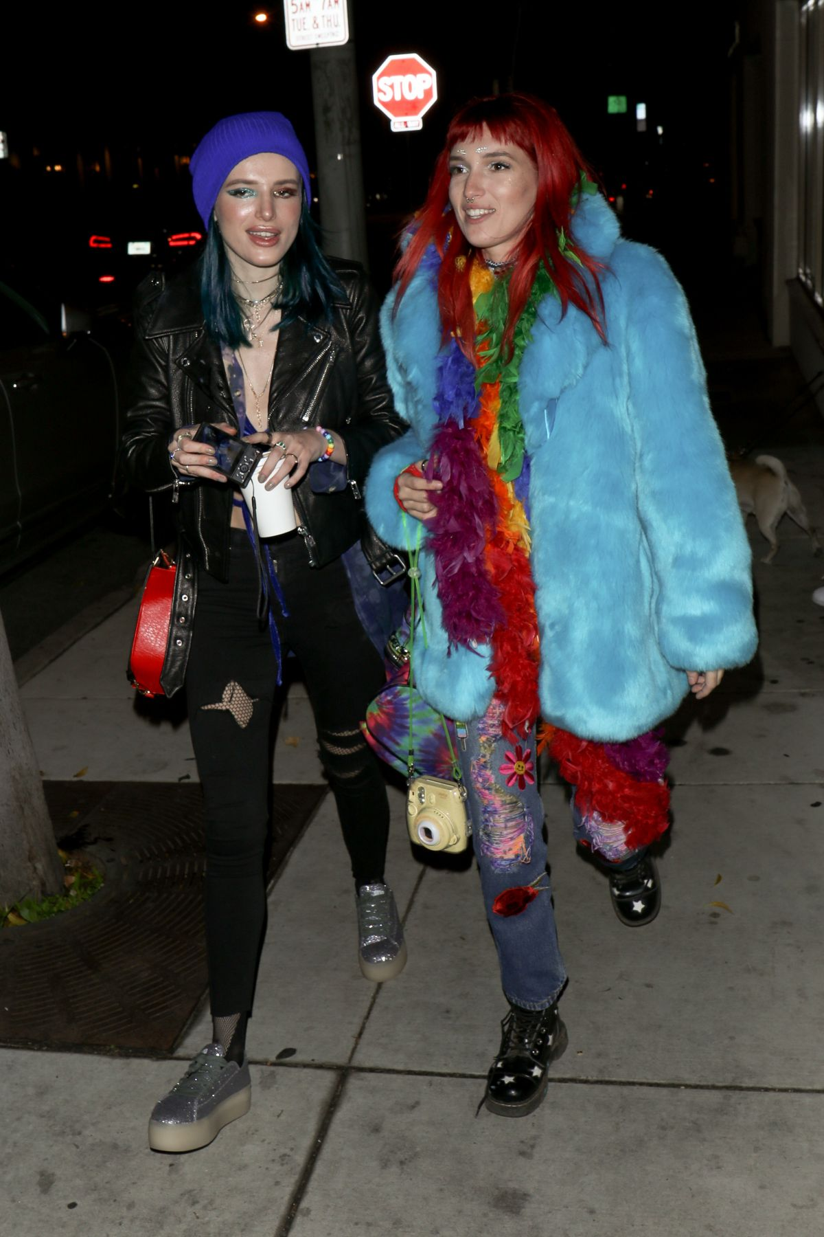BELLA and DANI THORNE Out to Celebrate Dani