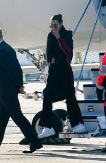 BELLA HADID Arrives in Paris, 01/19/2017