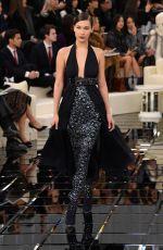 BELLA HADID at Chanel Fashion Show in Paris 01/24/2017