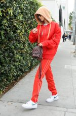 BELLA HADID Out and About in Los Angeles 001/03/2017