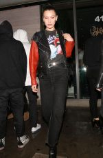 BELLA HADID Out for Dinner at Jon & Vinny