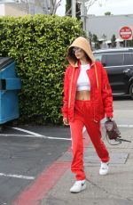 BELLA HADID Out for Lunch in Beverly Hills 01/03/2017