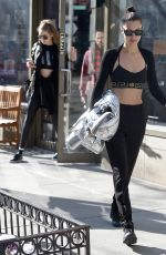 BELLA HADID Out in New York 01/15/2017