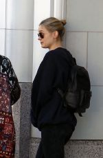 BELLA HEATHCOTE Out Shopping in Beverly Hills 01/26/2017
