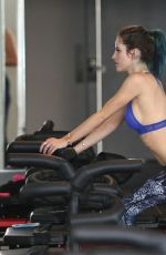 BELLA THORNE at a Pilates Class in Los Angeles 01/05/2017