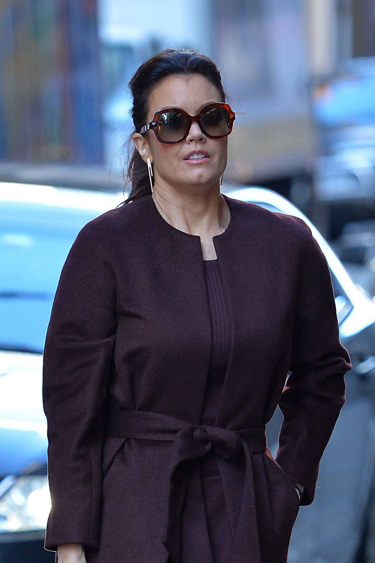 BELLAMY YOUNG Out and About in New York 01/25/2017