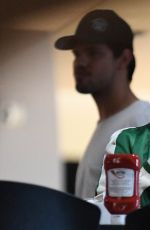 BILLIE LOURD and Tayor Lautner Out in Studio City 01/04/2017
