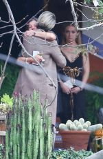 BILLIE LOURD at Memorial Service of Debbie Reynolds and Carrie Fisher in Los Angeles 01/05/2017