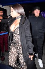 BLAC CHYNA Night Out in New York 01/15/2017